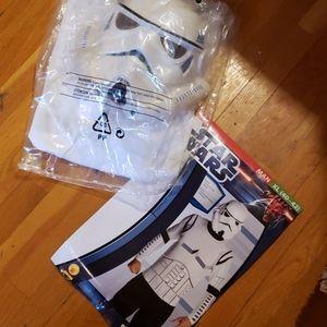 NEW Star Wars Clone Wars Storm Trooper Costume XL